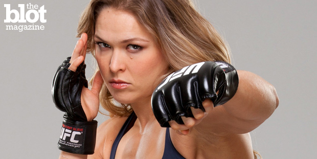 Wal-Mart, you know, the largest provider of guns and ammo to the American public, won't to carry UFC champ Ronda Rousey's book because she's 'too violent.'