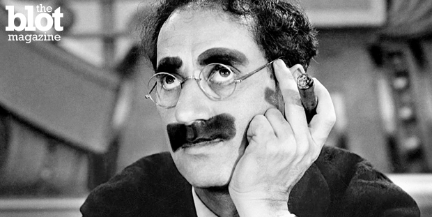 In 1953, Groucho Marx gave then-cub reporter Ted Sherman some career advice that he took to heart for the next 40 years — and you should, too. (entertainmentfuse.com photo)