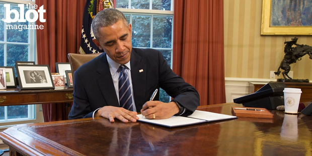 President Obama has written more presidential memoranda, including last month's 12, than the past 11 presidents. Is this use or abuse of his powerful pen? (YouTube.com photo)