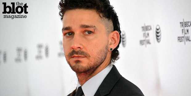 At the Tribeca Film Festival screening of Alma Har'el's 'LoveTrue,' which he financed, troubled star Shia LaBeouf was solemn, sad and martyr-ish — and Shia. (Photo by Dorri Olds)