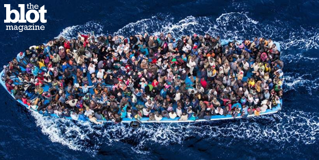 Thousands of migrants are dying in the Mediterranean as they try to flee war, poverty, intolerance and famine in their home countries. We need to help. Seen above are refugees rescued by the Italian navy off the coast of Africa last June. (time.com photo)