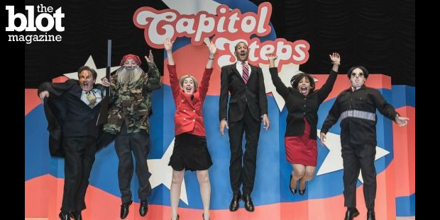 As if politics weren't funny enough, the Capitol Steps have been blending biting non-partisan satire with music since 1981 — and politicians love them.  (Photo courtesy Capitol Steps)