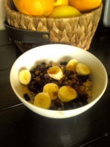 Instant Oatmeal with all the Fixins