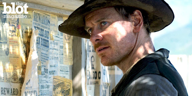 This month features refreshing zombie film 'Maggie,' war drama 'Good Kill,' Western 'Slow West,' starring Michael Fassbender, above, sci-fi flick 'Tomorrowland' and some Marvel movie.(YouTube photo)