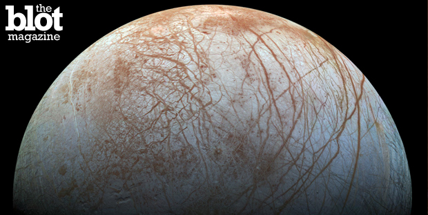 NASA scientists say dark material on Jupiter's moon Europa could be sea salt. We spoke with Kevin Hand of its Jet Propulsion Laboratory to find out more. (nasa.gov photo)