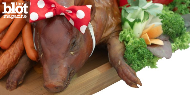 Nobody wants to get trichinosis at your backyard barbecue, so here's our handy-dandy tips for having a safe, tasty — and fully cooked — pig roast.