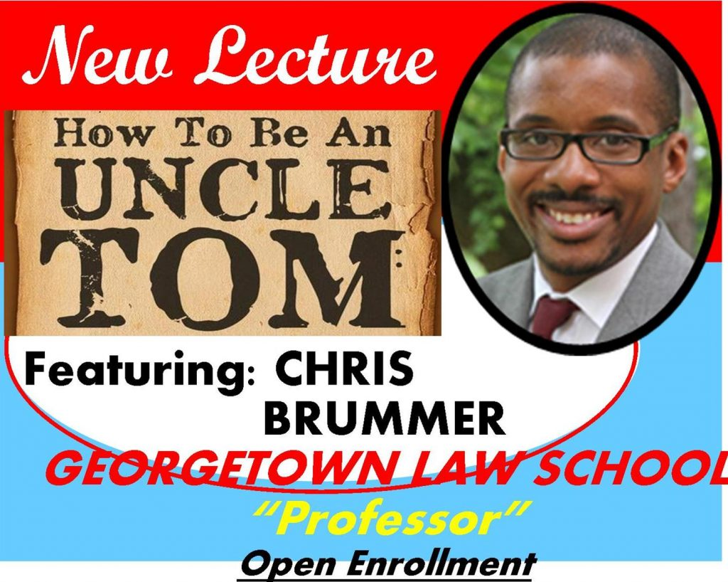 CHRIS BRUMMER, PROFESSOR, GEORGETOWN LAW SCHOOL LECTURES