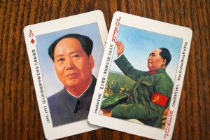 Dictators - Mao Zedong playing cards - photo by Kirsten Koza