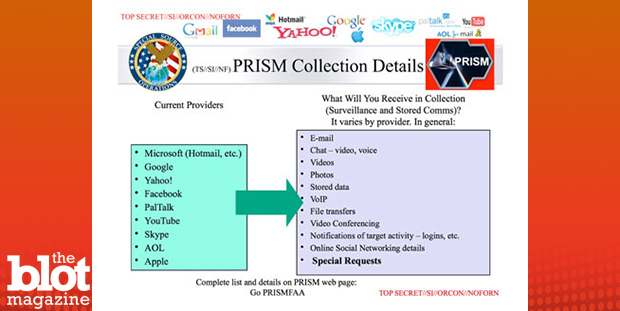 The NSA told TheBlot it won't release classified slides related to a secret program called PRISM that were leaked by a government contractor two years ago. Above, a slide from the PRISM documents released by The Guardian that the agency cannot confirm or deny exists. (U.S. government work/The Guardian photo)