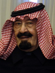 King Abdullah of Saudi Arabia (photo by DoD Cherie A. Thurlby - public domain)