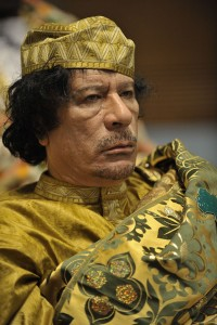 dictators - gaddafi - public domain - photo by Jesse B. Awalt US navy