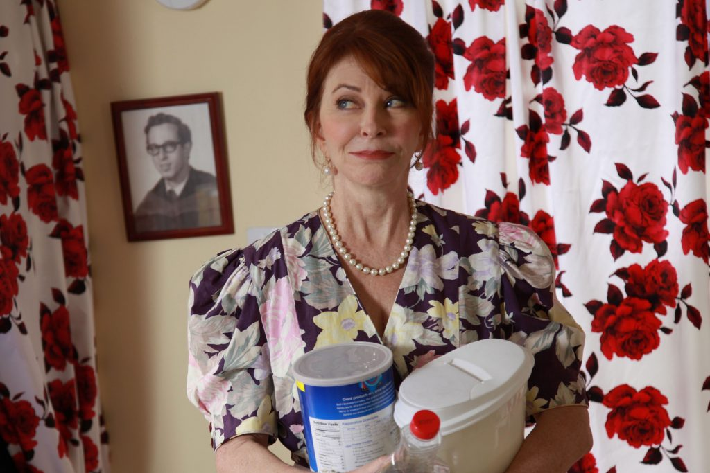 Cassandra Peterson is less Mistress of the Dark and more Mom in 'First Period.' (Photo courtesy 'First Period.')