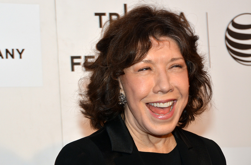 Lily Tomlin at the Tribeca Film Festival premiere of 'Grandma.' (Photo by Dorri Olds)