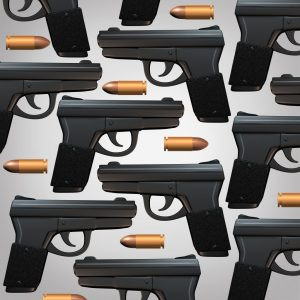 Gun And Bullet Background