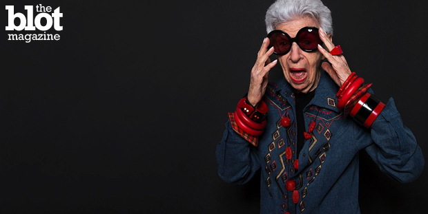 Fashion is fickle, but at least we know it isn't an ageist as many famous 60-plus women, like the fabulous Iris Apfel, above, are becoming the industry's latest It Girls, reports Gazelle Paulo. (Pinterest photo)
