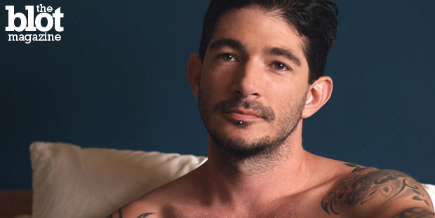 "Johnny Hazzard said goodbye to porn and now is Frankie Valenti, a charismatic actor who starred in ""Tiger Orange,"" an indie about estranged gay brothers. (Wolfe Video photo)"
