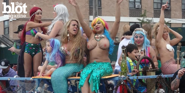 A New York tradition since 1983, Coney Island's Mermaid Parade unabashedly ushered in summer in the outrageous way only it can — just the way we love it. (Photo by Jason Gross)