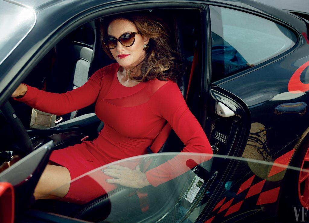 Caitlyn Jenner by Annie Leibovitz.