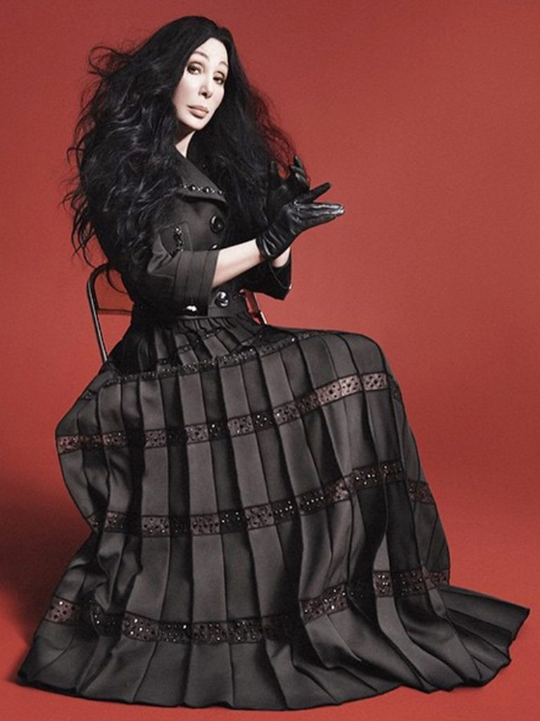 Cher for Marc Jacobs.