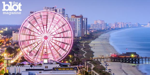 Sorry, Hawaii, you have a beautiful but unfair advantage so you won't be making this list of the five best beaches in the U.S. This one's for you, mainland! Seen above is Myrtle Beach, S.C.