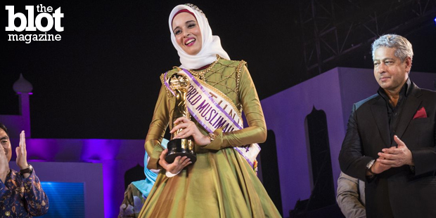 An eye-opening BBC documentary about a Muslim beauty pageant called Miss World Muslimah showcases what Al Jazeera called Islam's answer to Miss World. Above, Miss Tunisia Fatma Ben Guefrache is crowned Miss Muslimah 2014. (Al Jazeera photo)