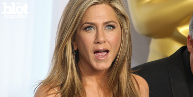 Jennifer Aniston and her pity party halts homes being constructed in L.A., killing tons of jobs because they don't like homes bigger than theirs! Wah, wah! (© Faye Sadou / UPA ./Retna Ltd./Corbis photo)