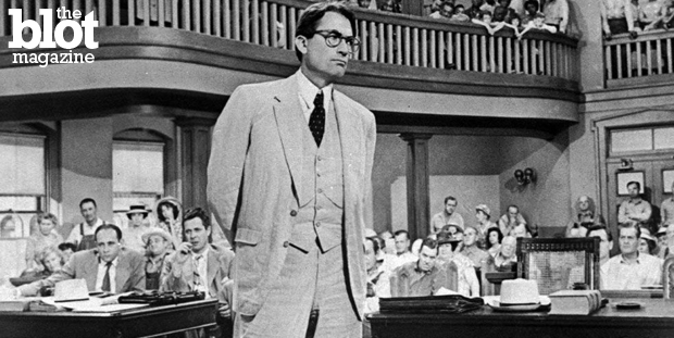 Harper Lee's 'Go Set a Watchman' made many wonder if Atticus Finch, seen above played by Gregory Peck in the 1962 movie adaptation, was truly the champion of social justice her 'To Kill a Mockingbird' made him out to be — or a racist. (aireform.com photo)