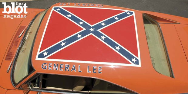 The Confederate flag shouldn't fly on government buildings, but is pulling 'Dukes of Hazzard' reruns because of the General Lee Dodge Charger going to far? (xtrememusclecars.co photo)