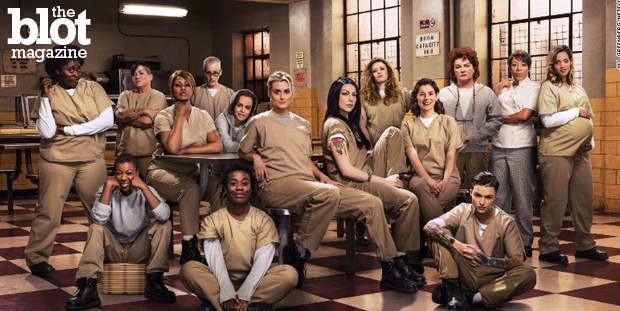 A longtime court reporter emerged from her 72-hour binge of 'OITNB' and realized that some characters being in a federal penitentiary doesn't make sense. (Netflix photo)