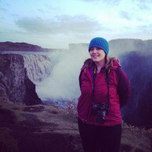 donna talarico waterfall iceland