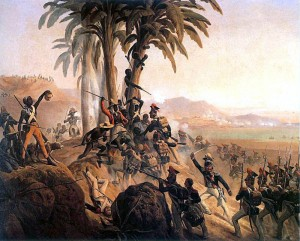 'Battle at San Domingo' by January Suchodolski. (Wikipedia photo)