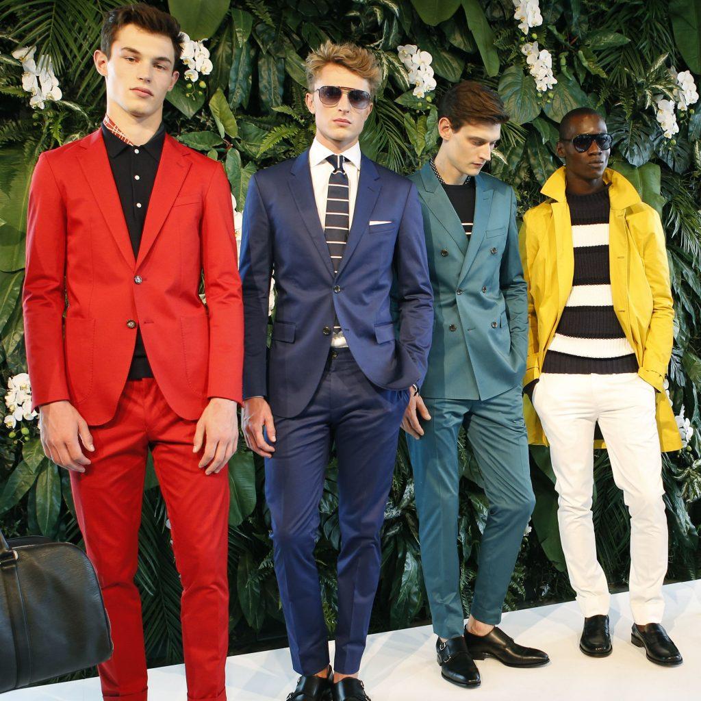 Tommy Hilfiger's presentation at New York Fashion Week: Men's. (Source)