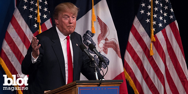 The move came after 700,000 people signed an online petition requesting that Macy's fire Donald Trump over his comments about Mexican immigration. (John Pemble / Iowa Public Radio / Flickr Creative Commons photo)