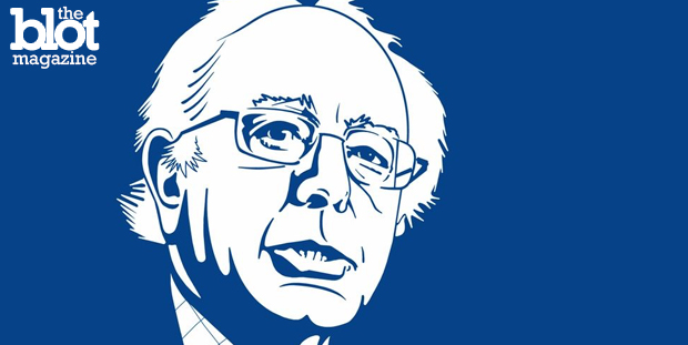 Independent Vermont Sen. Bernie Sanders has trashed both parties, but if he does overtake Hillary Clinton, he's going to need support from the Democrats. (thedailydot.com photo)