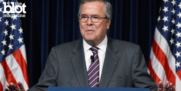In a speech at the Reagan Library this week, presidential hopeful Jeb Bush blamed opponent Hillary Clinton and President Obama for the rise of ISIS in Iraq. (cnn.com photo)