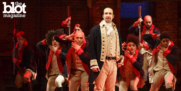 Lin-Manuel Miranda's 'Hamilton' has taken Broadway by a hip-hop-infused historical storm, and one writer was so inspired, he wrote a rhyming review of it. (showhelpme.com photo)