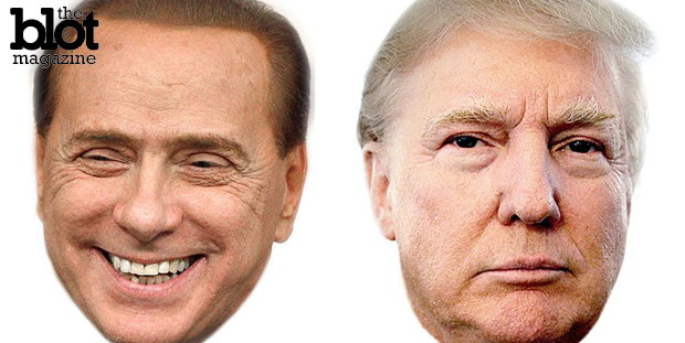 Doubt Trump's longevity? His loudmouthed Italian counterpart, politician and convicted fraudster Silvio Berlusconi, was elected prime minister three times. (nytimes.com photo)