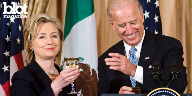 Though it's late, it's rumored Joe Biden might make a bid for the White House in 2016. If he does, what would that mean for frontrunner Hillary Clinton? (msnbc.com photo)
