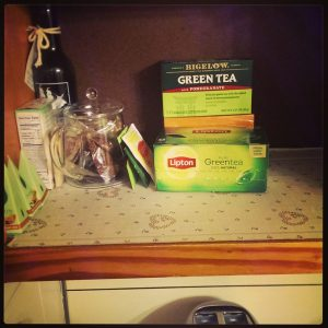 I wish I had a before photo of the terrible tea cabinet. (Photo by Erin L. Nissley)