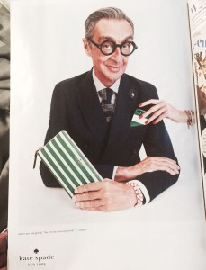 A Robert W. Richards ad for Kate Spade. (Photo by Gazelle Paulo)