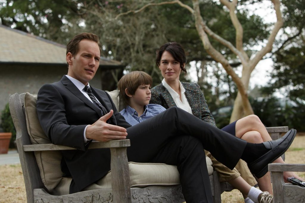 Wilson, Kelton DuMont and Lena Headey in a scene from 'Zipper.' (Photo courtesy of 'Zipper')
