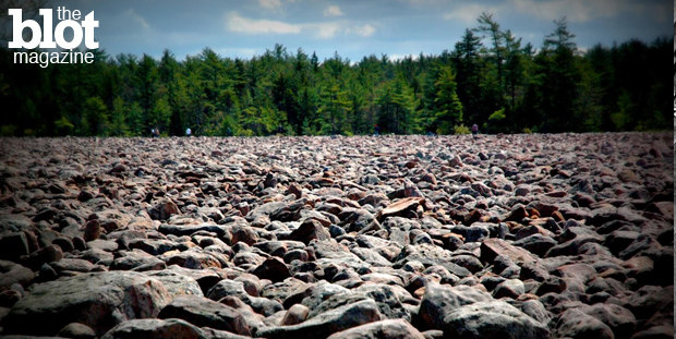 This 'Park It' visits Hickory Run State Park in Carbon County, Pa., famed for Boulder Field whose rocks were deposited 20,000 years ago during the Ice Age. (Photo by Erin L. Nissley)
