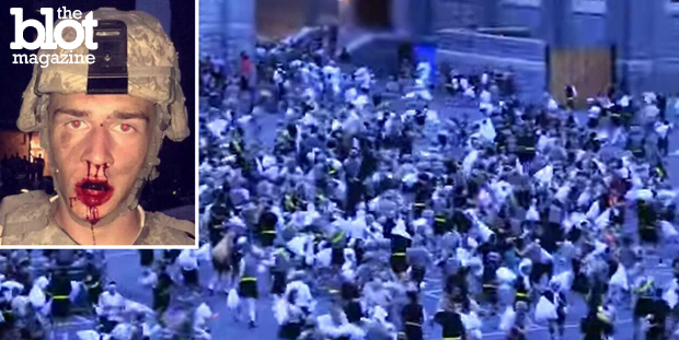 Thirty West Point cadets were injured in the academy's annual pillow fight, and we wonder if the government will now try to find a way to weaponize bedding. (nypost.com photo)