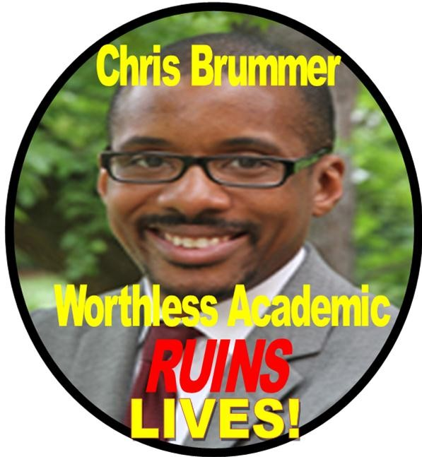 CHRIS BRUMMER, GEORETOWN LAW SCHOOL PROFESSOR, WORTHLESS ACADEMIC