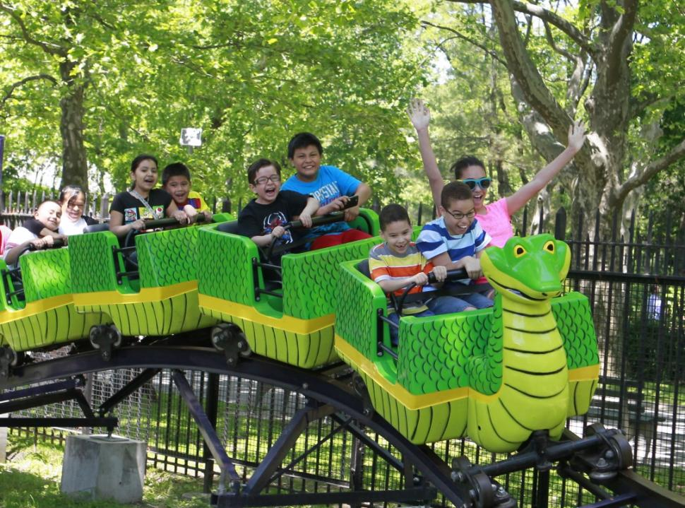 The Cobra Costa at Fantasy Forest. (nydailynews.com photo)
