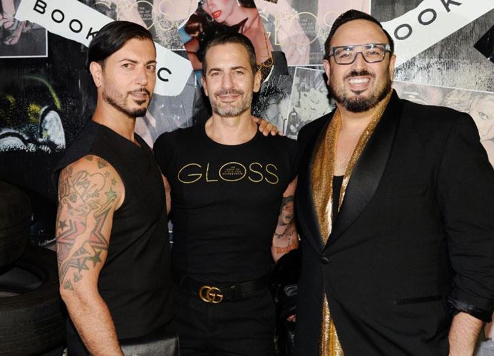 Roger Padilha, Marc Jacobs and Mauricio Padilha at the launch of the Padilha's book (Photo by Gazelle Paulo)