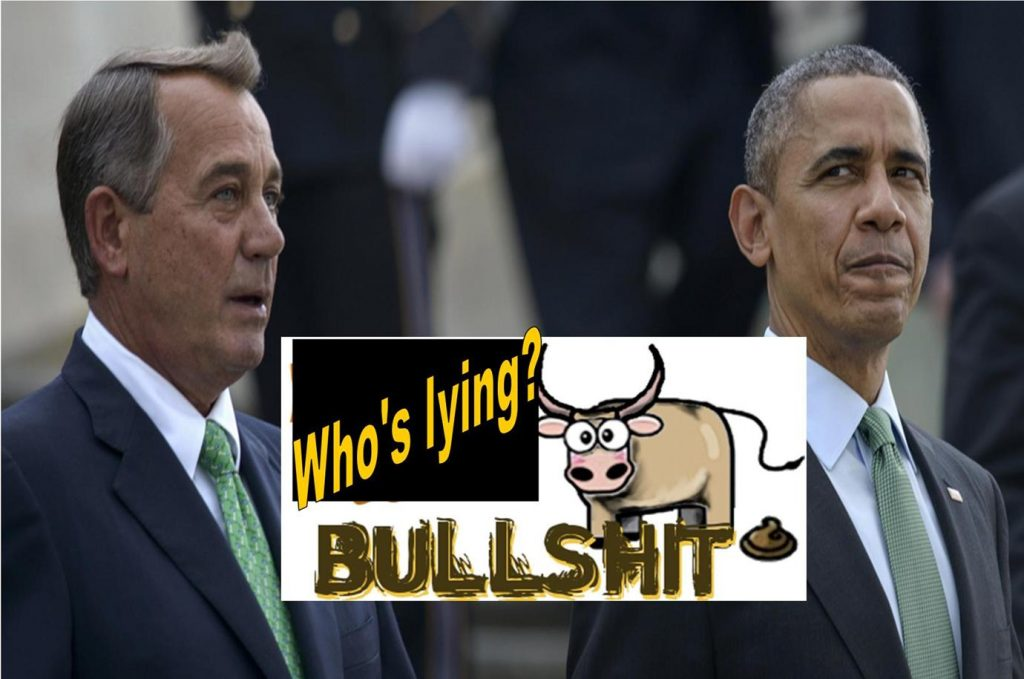 Obama Calls Boehner's Bluff, Why Don't You Just Call a Vote