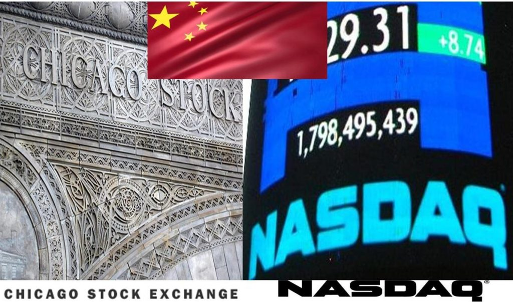 CHICAGO STOCK EXCHANGE SALE-TO-CHINA-ENDS-NASDAQ-MONOPOLY-ON-LISTINGS