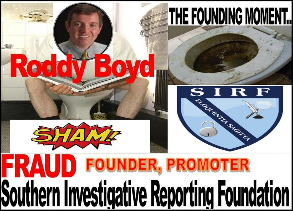 RODDY BOYD, INVESTIGATOR, SOUTHERN INVESTIGATIVE REPORTING FOUNDATION