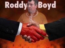 TABLOID WRITER, FRAUDSTER RODDY BOYD IMPLICATED IN MULTIPLE FRAUDS